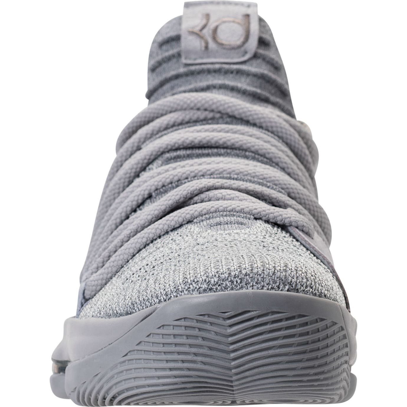 Nike KD 10 Wolf Grery Cool Grey Release Date Front