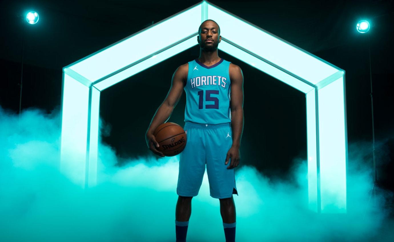 Kemba Walker Jordan Hornets Jersey