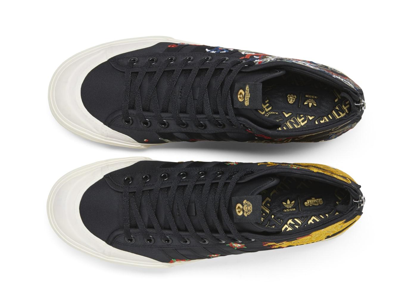 premium selection a616f 36562 Image via Adidas Adidas Consortium Juice x foot Patrol Matchcourt Mid  CM7877 (Top)