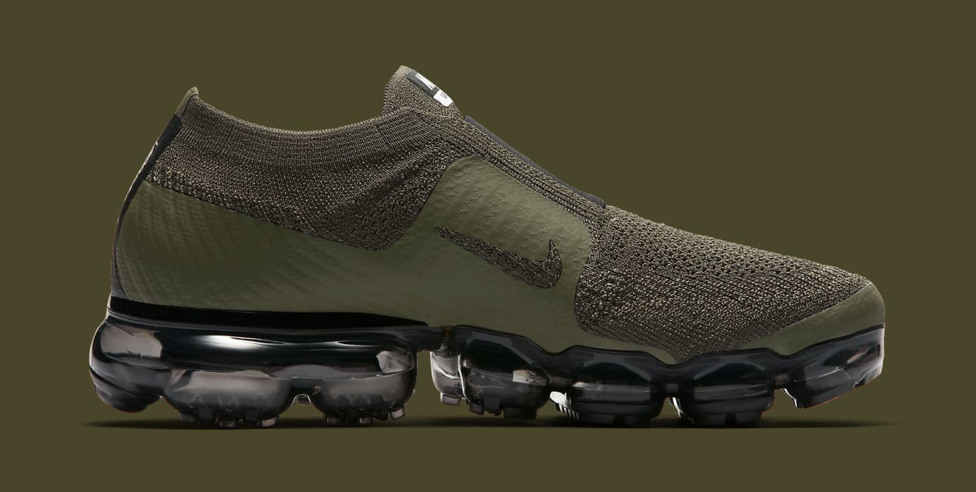 separation shoes 81a87 04df2 Image via Nike Olive Nike Air VaporMax Moc AA4155-300 Medial