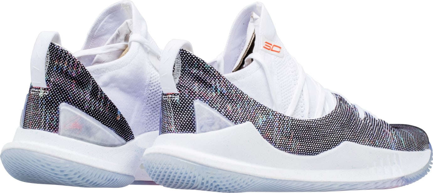 bf081a59f8f3 Image via Shoe Palace Under Armour Curry 5  Welcome Home  (Heel)