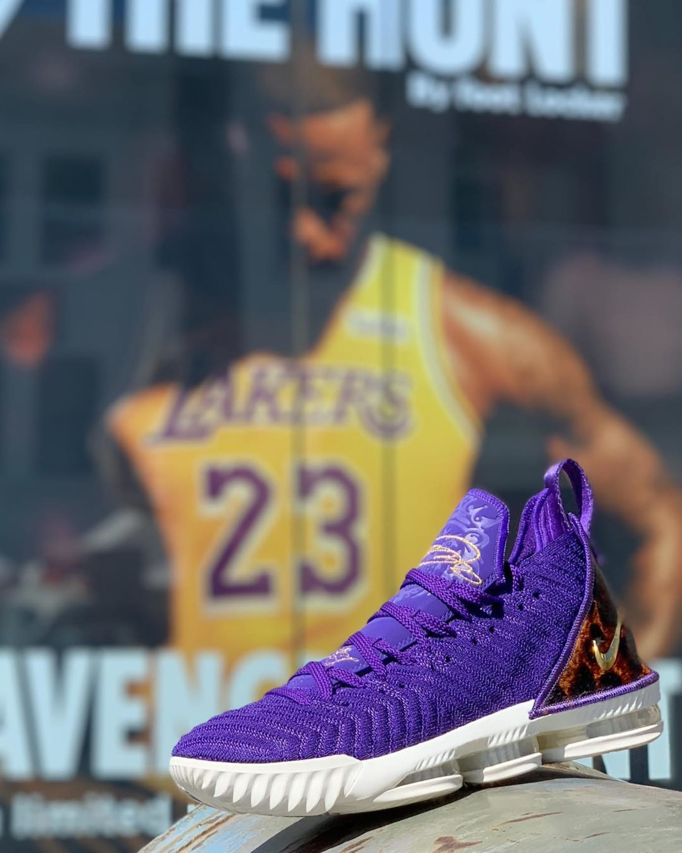 Nike LeBron 16 King Court Purple Release Date AO2588-500