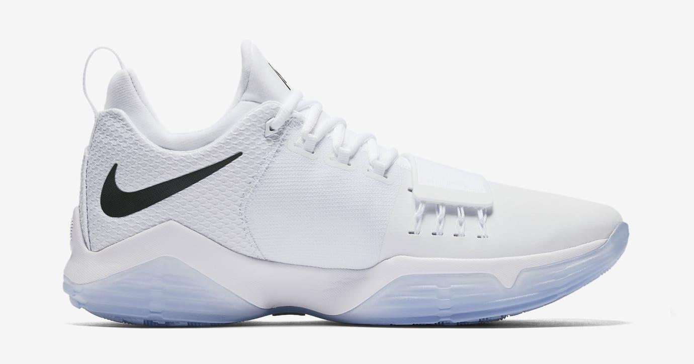 Nike PG1 White Black 878627-100 Medial