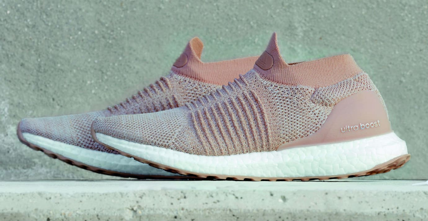 Adidas Ultra Boost Laceless Nude Release Date Side