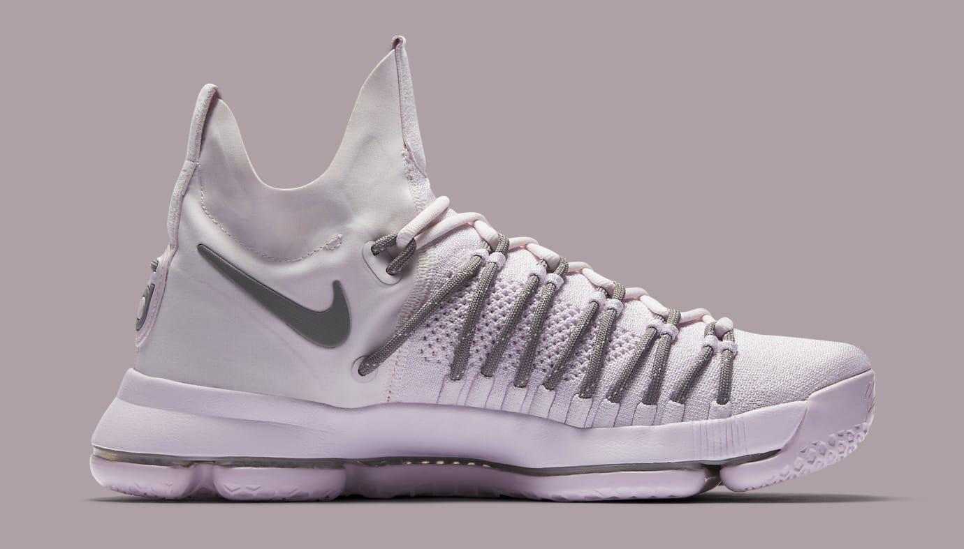 Pearl Pink Nike KD 9 Elite 914692-600 Medial
