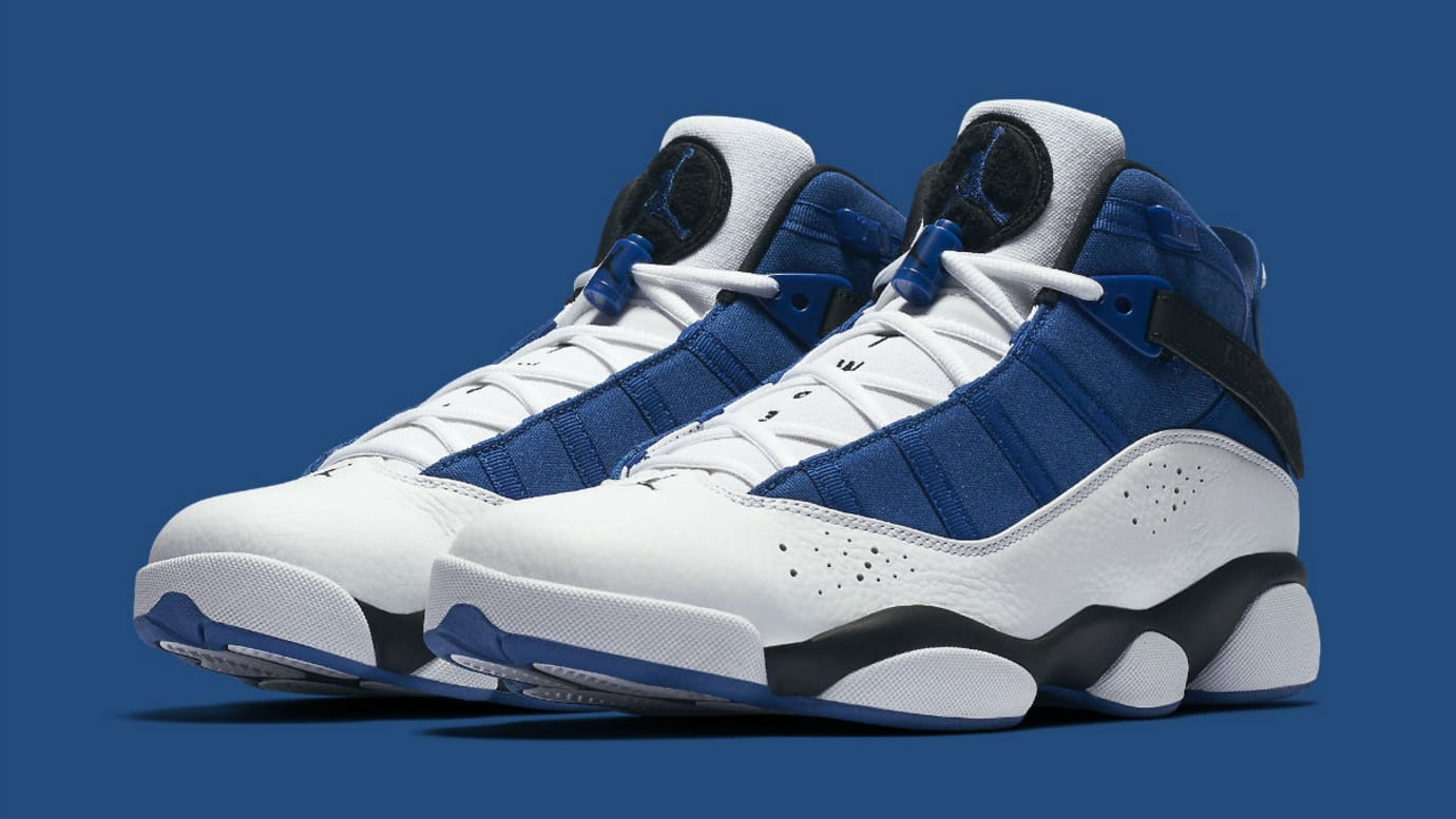 newest collection 6bdeb ca347 Jordan 6 Rings 2017 French Blue Release Date Main 322992-400