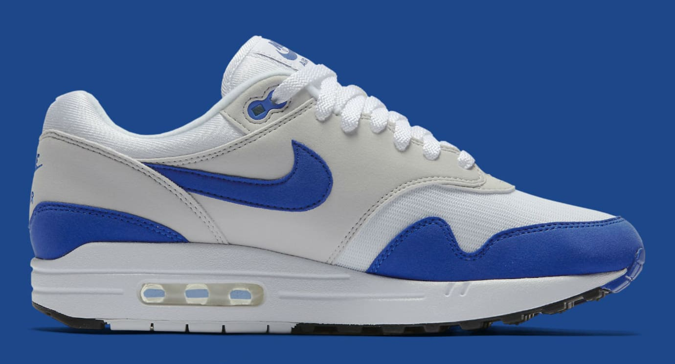 Nike Air Max 1 Anniversary Royal Release Date Medial 908375-101