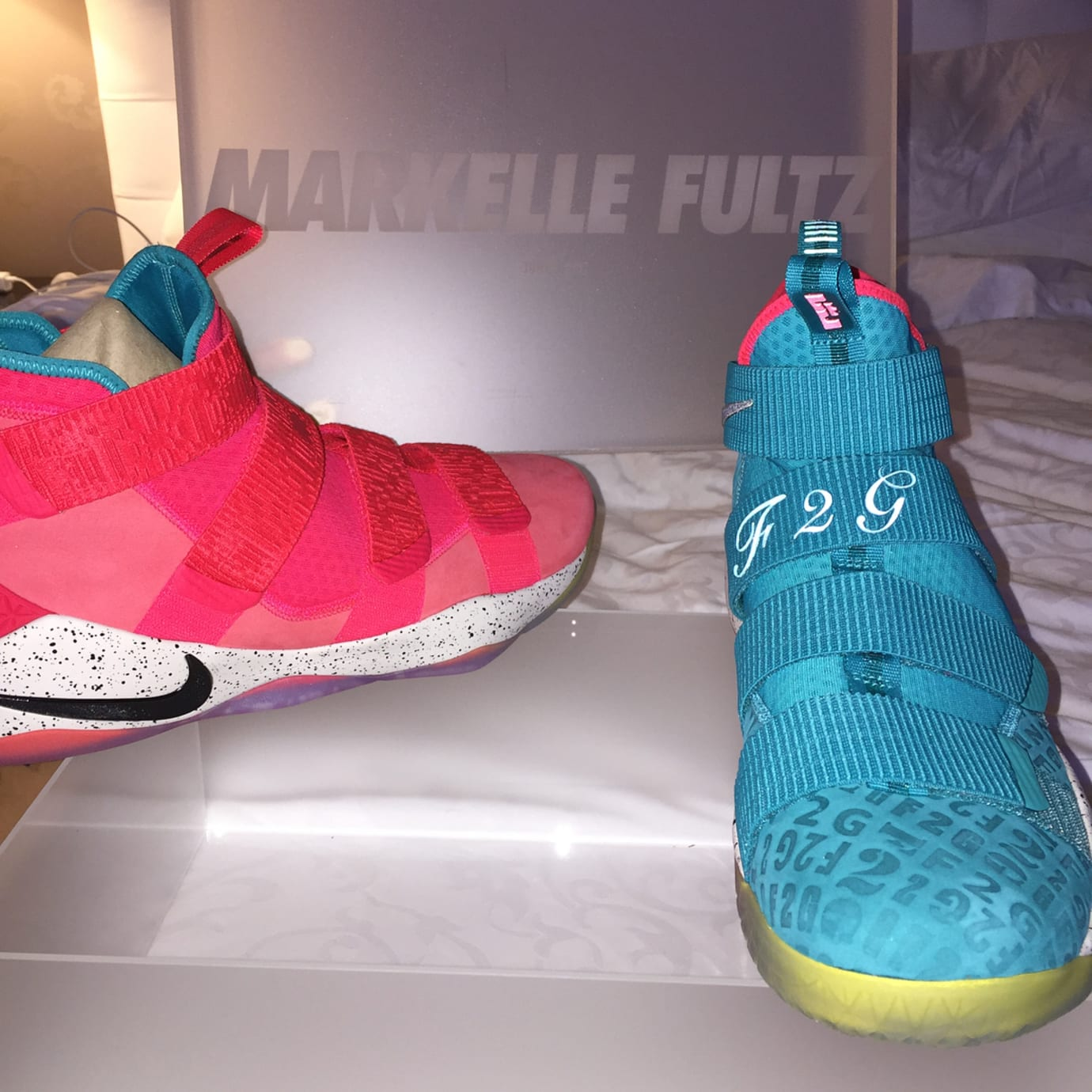 18221ead348fe Markelle Fultz Nike LeBron Soldier 11 F2G PE (2)