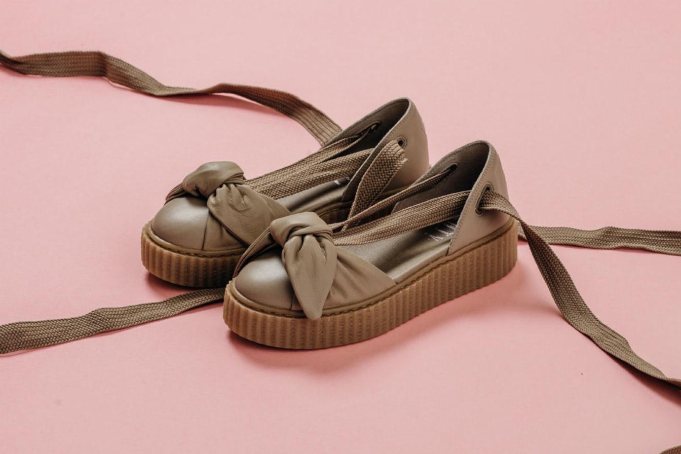 release date: 4ef2f 5d5ff Rihanna x Puma Bow Creeper Sandal Release Date | Sole Collector