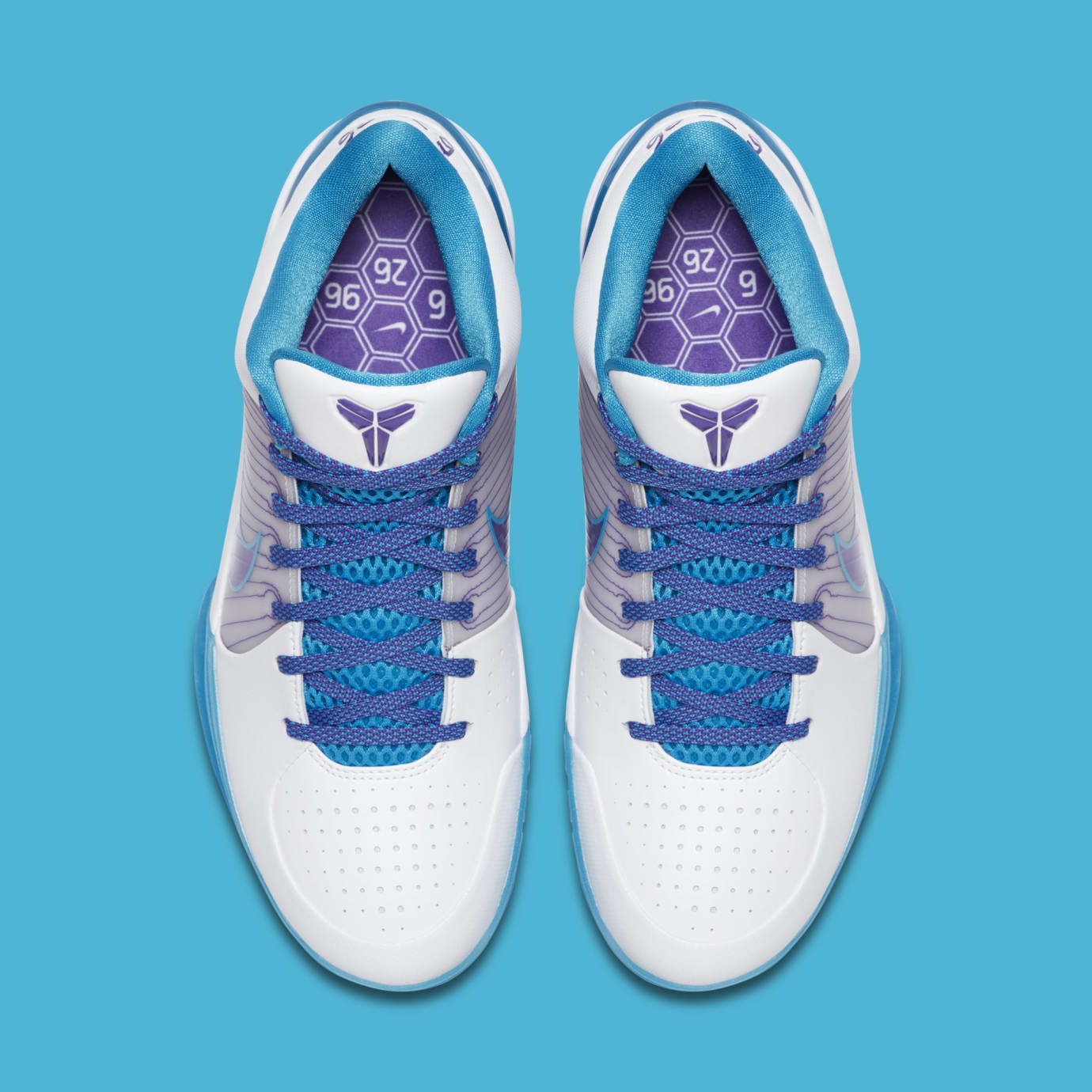 Nike Kobe 4 Protro 'White/Orion Blue-Varsity Purple' AV6339-100 (Top)