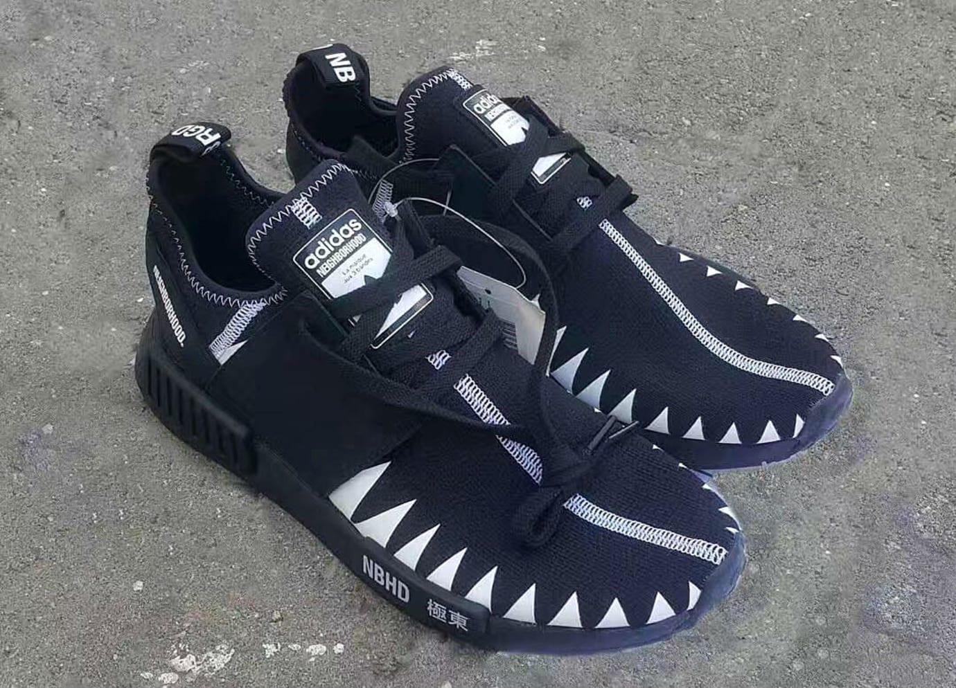 Neighborhood x Adidas NMD Black