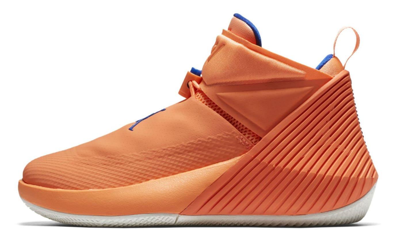 low priced 9536d 0fad9 Jordan Fly Next Westbrook OKC Orange Release Date Profile
