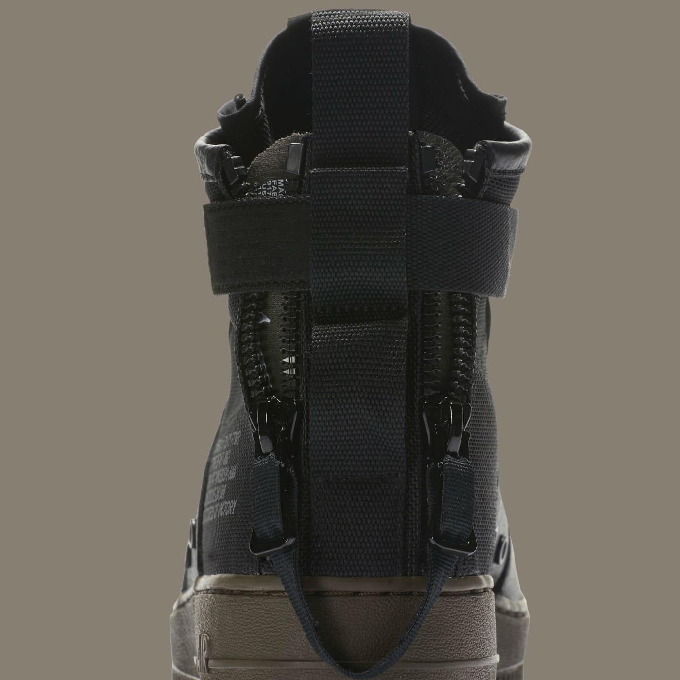 Nike SF Air Force 1 Mid Cargo Khaki Release Date Detail 917753-002