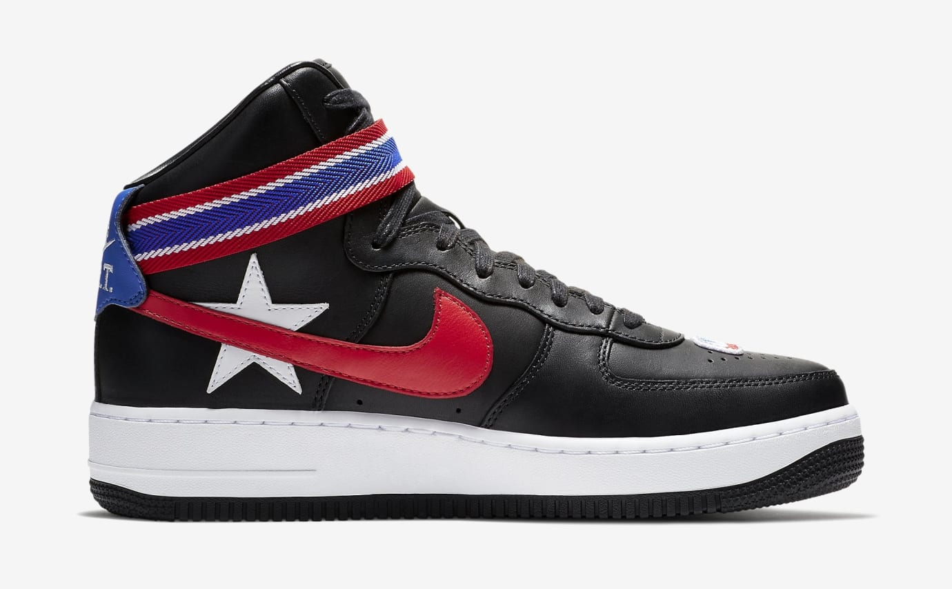 Riccardo Tisci Nike Air Force 1 AQ3366-001 Medial