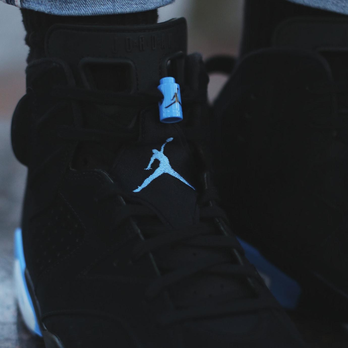 separation shoes 66228 d1110 UNC' Air Jordan 6 Black/University Blue 384664-006 Release ...