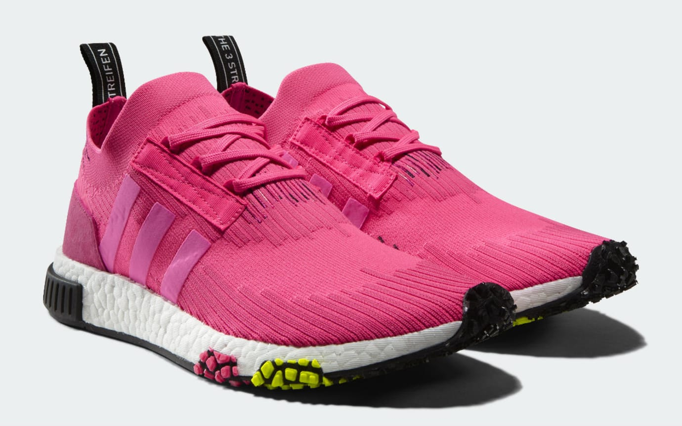 Adidas NMD Racer Primeknit Vivid Pink Release Date CQ2442 Front