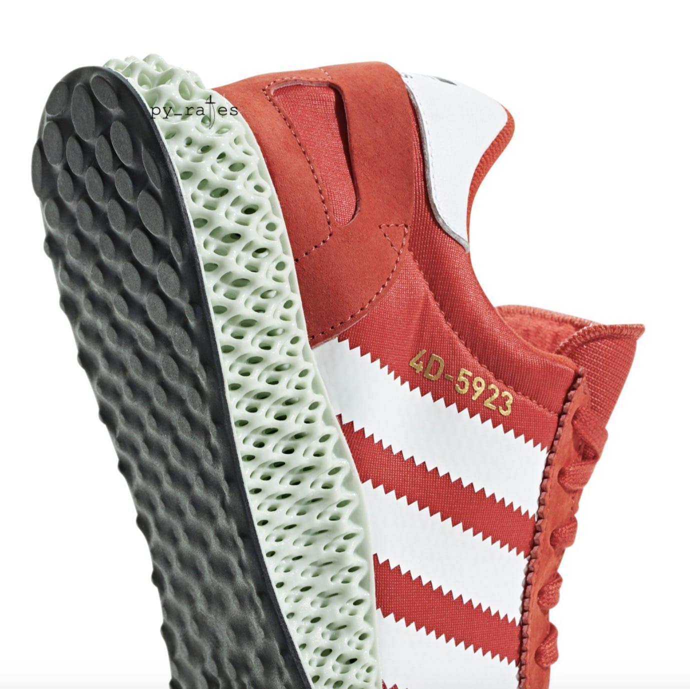 huge discount 26b28 beb9d Image via pyrates · Adidas 4D-5923 RedWhite (Heel)