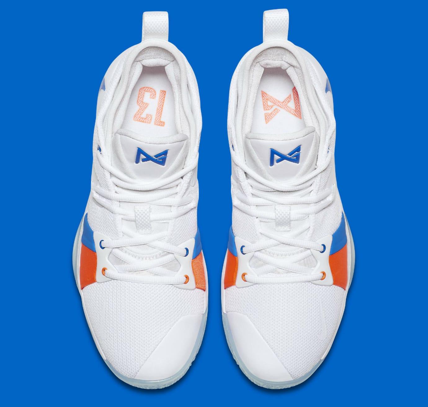 4409a4063dc Nike PG2 OKC Home Release Date AJ2039-100 Main