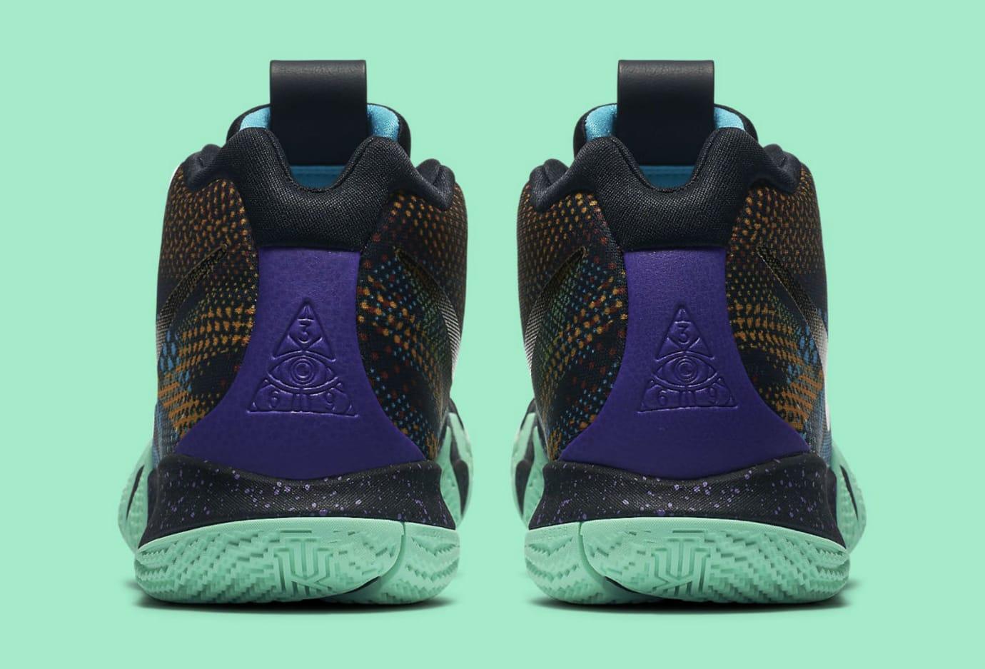 45c796e1ccd2 Nike Kyrie 4 Mamba Mentality Release Date AV2597-001 Heel
