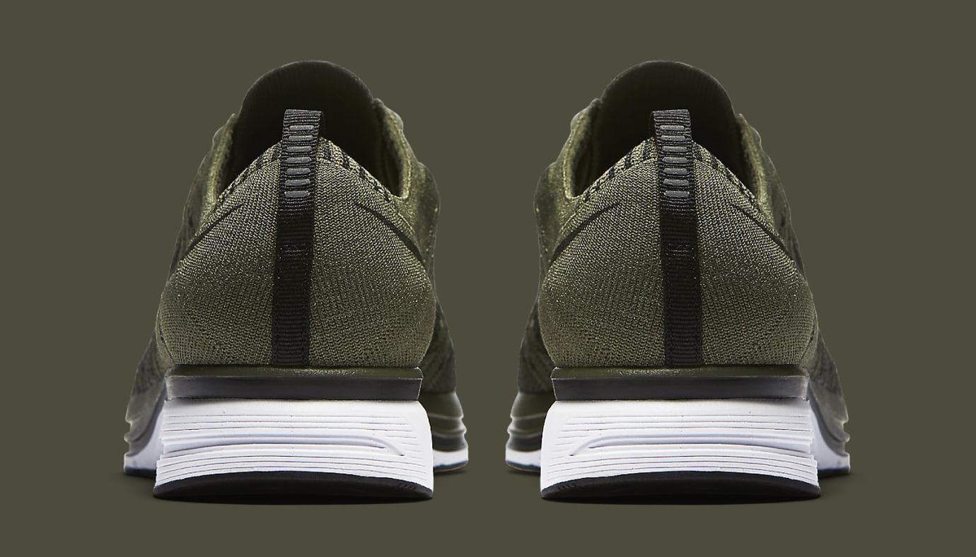 Nike Flyknit Trainer Olive AH8396-200 Heel