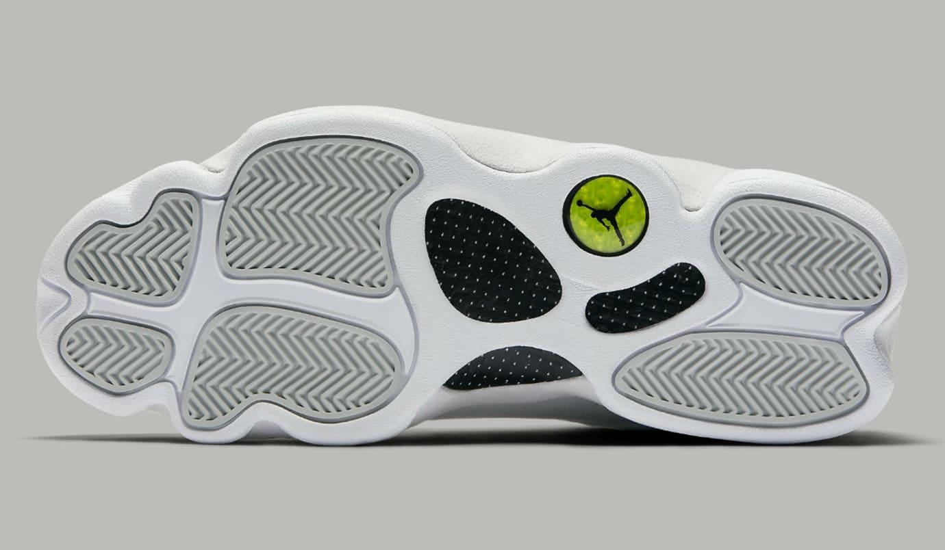 Air Jordan 13 Low Pure Platinum Release Date Sole 310810-100