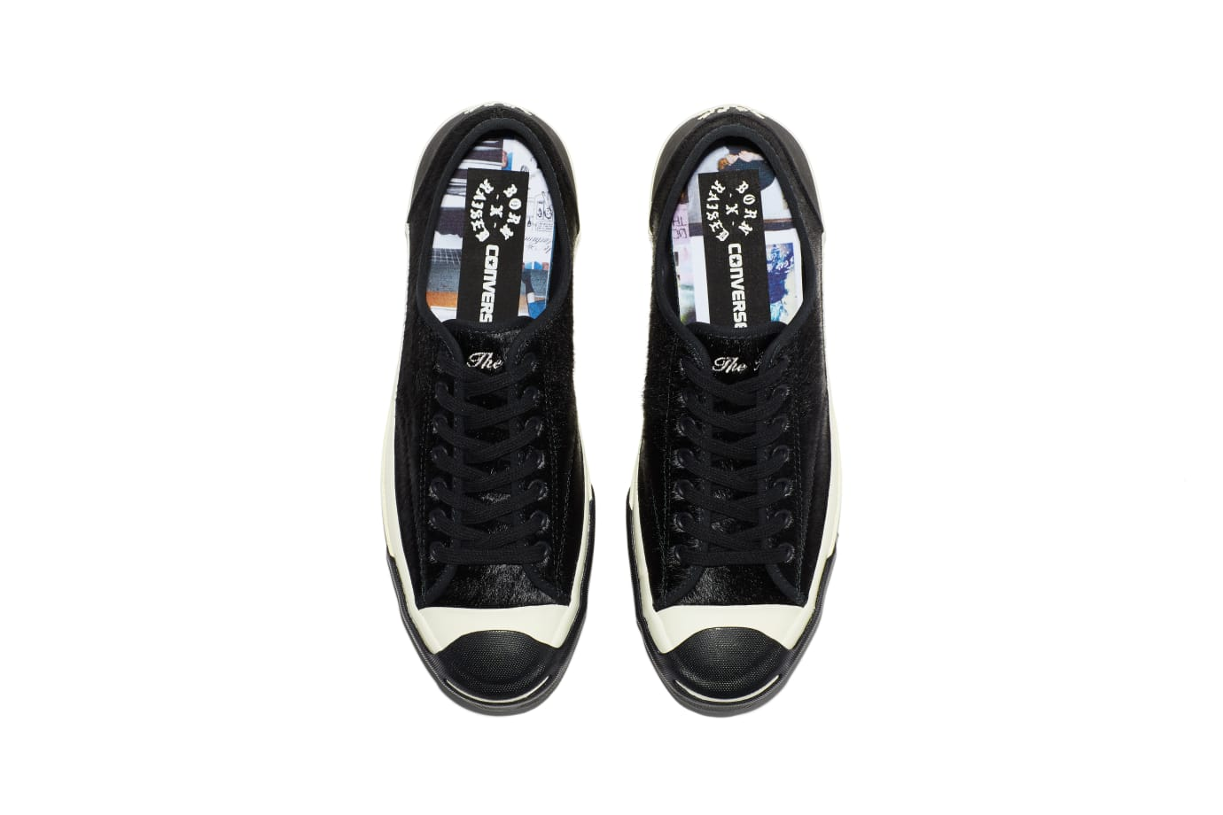 BornxRaised x Converse Jack Purcell 'Black' (Top)