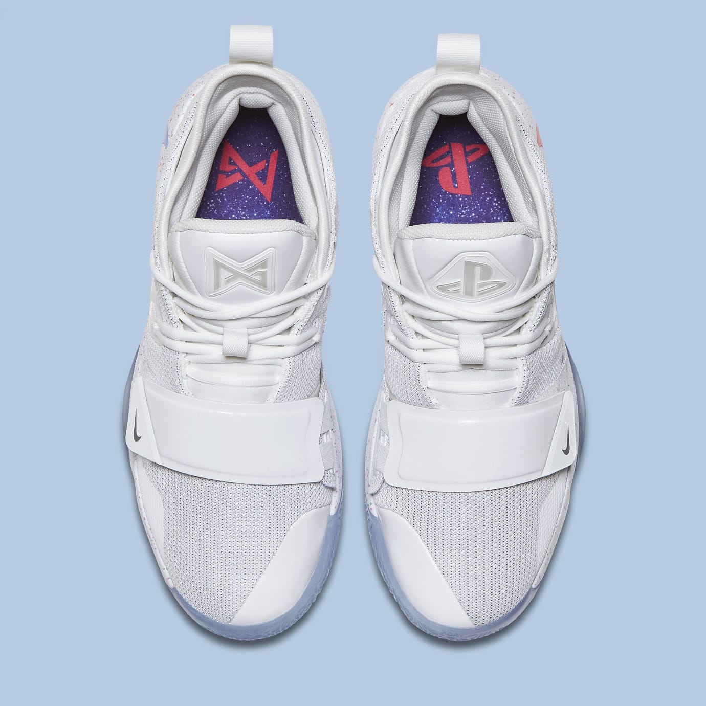 Nike PG 2.5 Playstation White Release Date BQ8388-100 Top