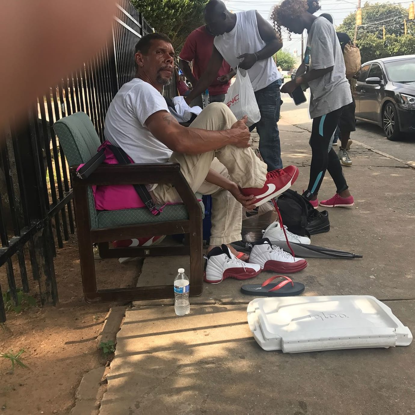 Trinidad James Homeless Sneaker Drive (2)
