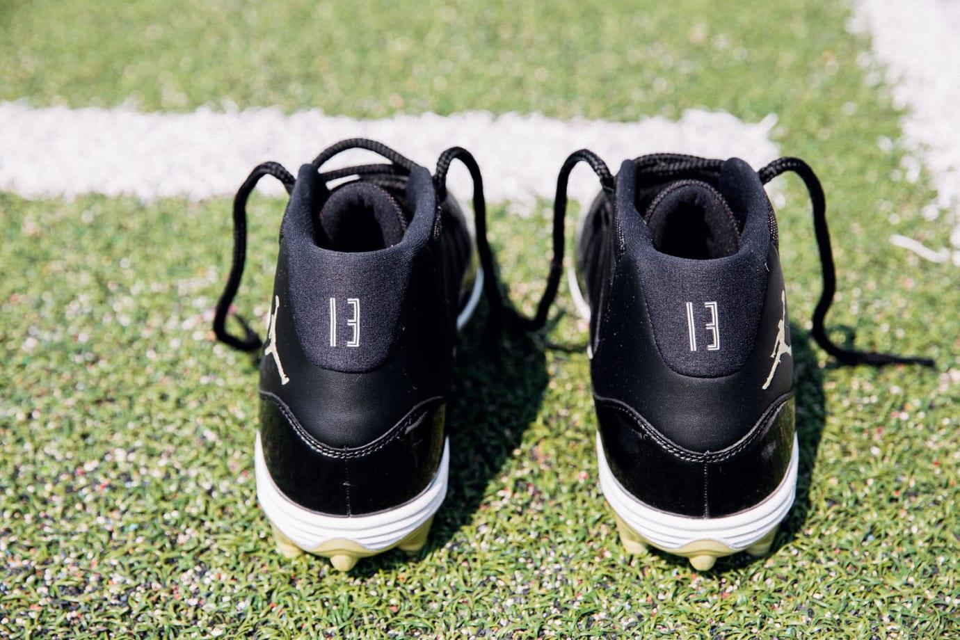 a8ce8018f3f ... Air Jordan 11 Cleats Michael Thomas PE (Heel)