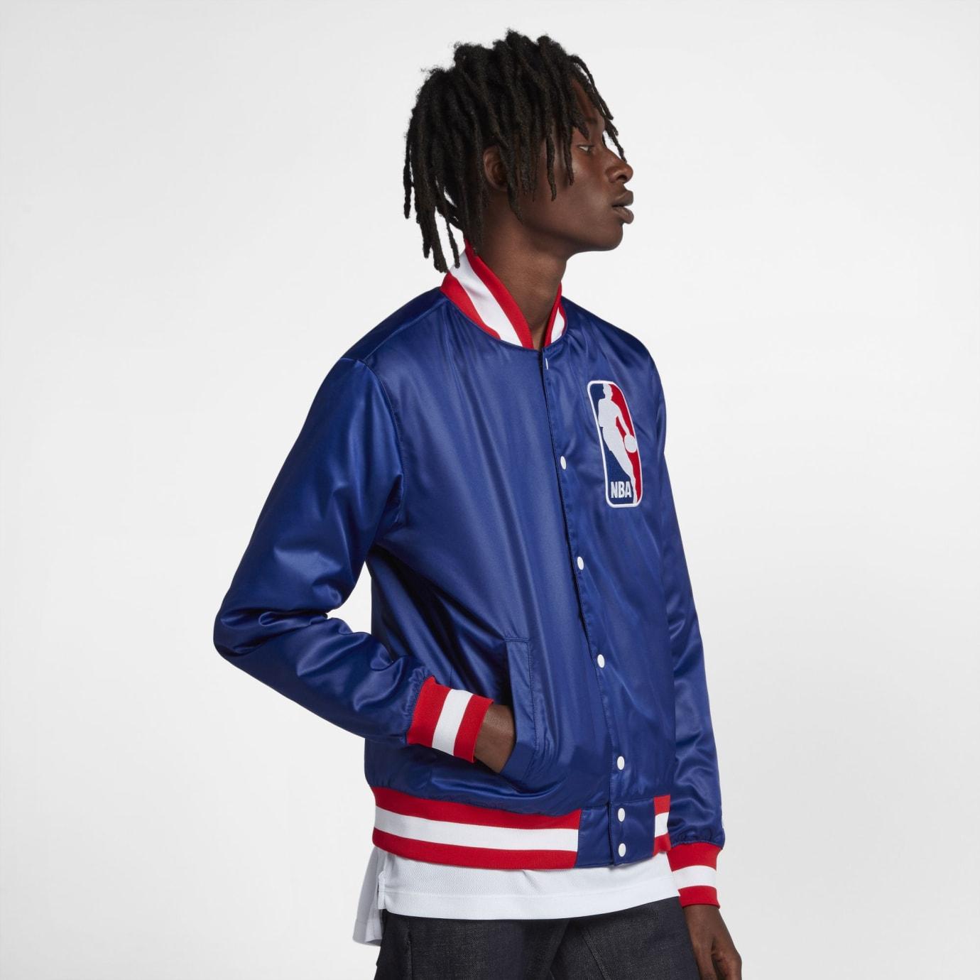 NBA x Nike SB Bomber Jacket (Blue)