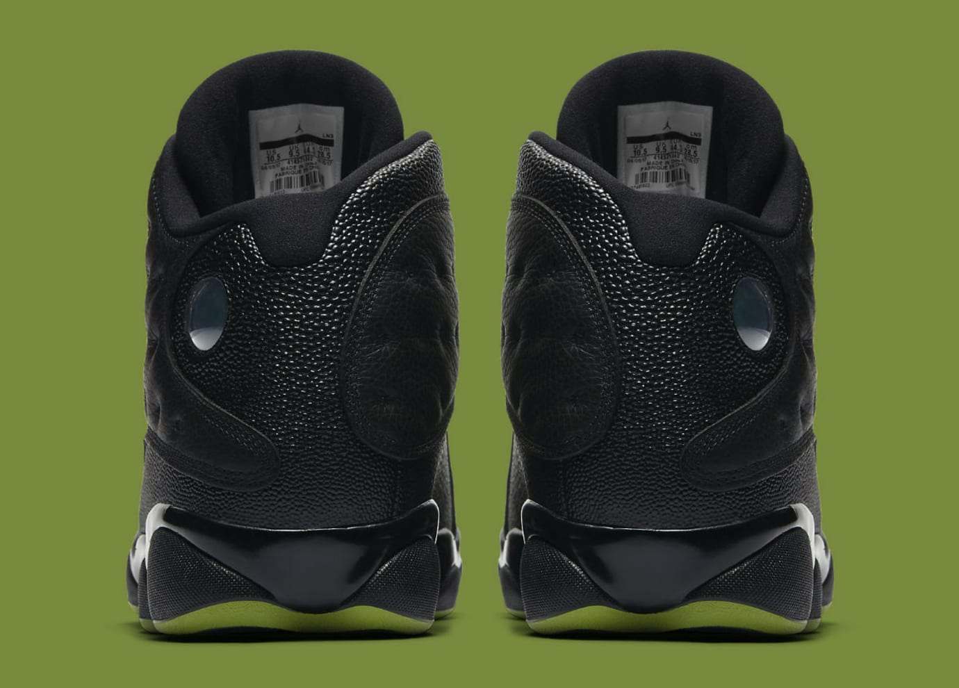 Air Jordan 13 Altitude Release Date 414571-042 Heel