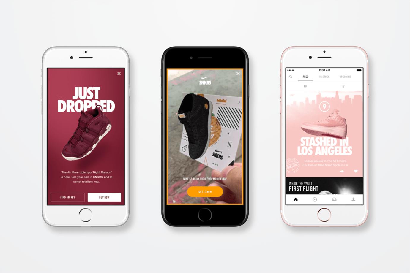Nike App SNKRS