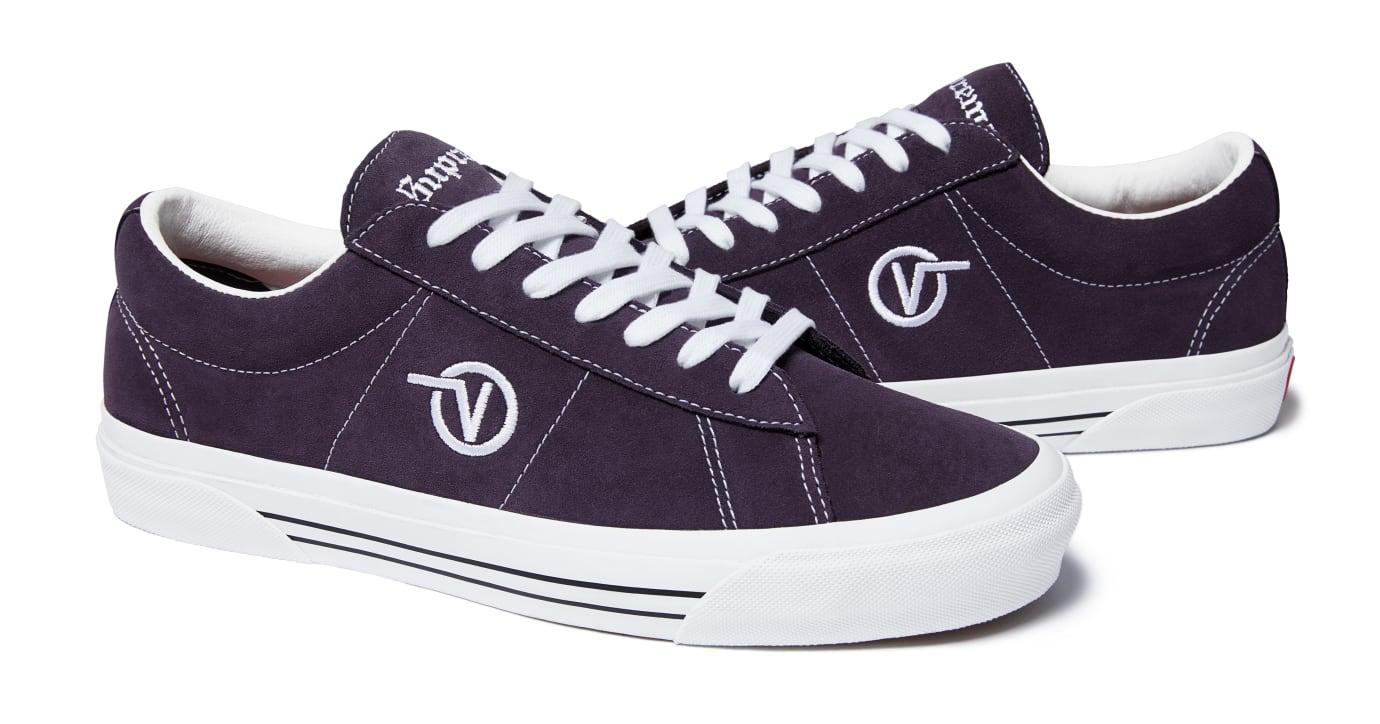 Supreme x Vans Sid Pro 'Purple'