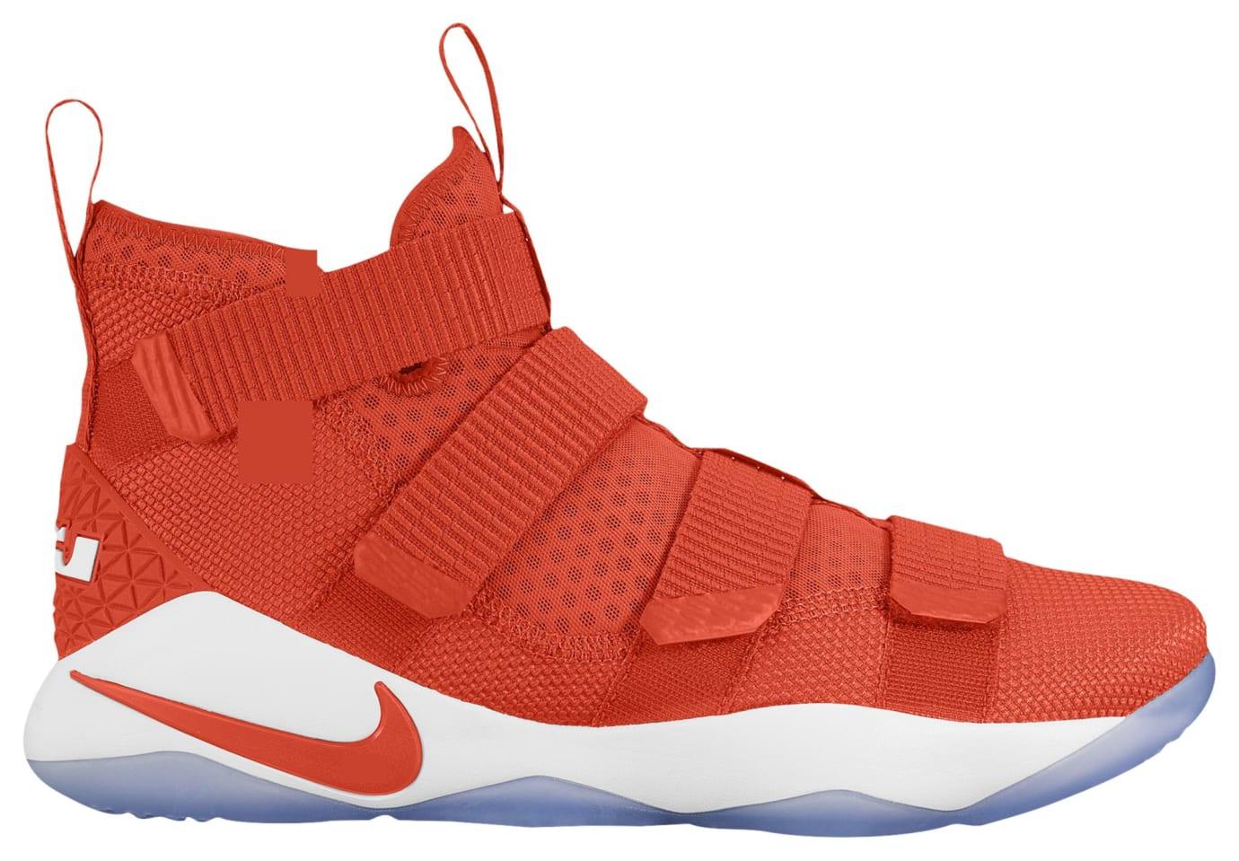 Nike LeBron Soldier 11 TB Orange