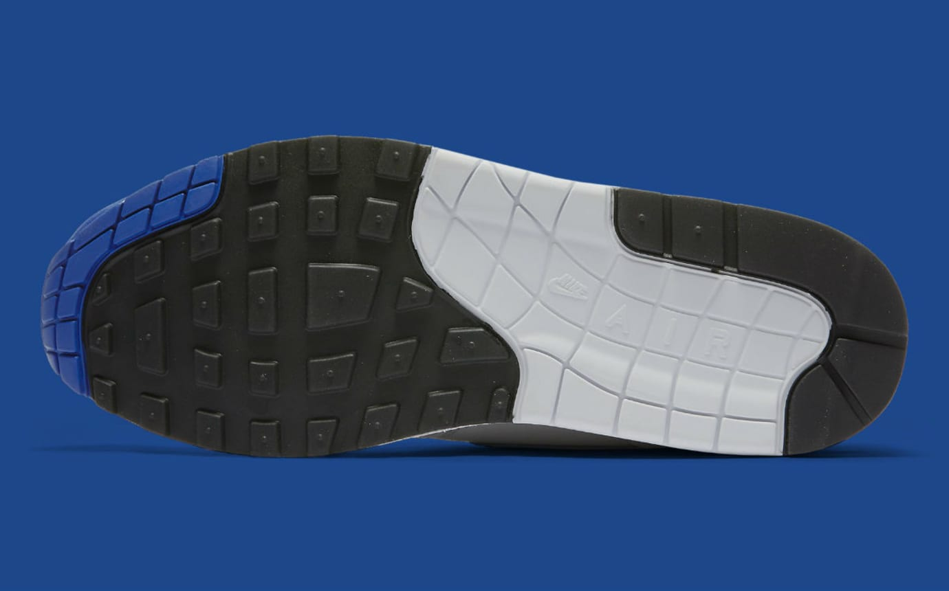 Nike Air Max 1 Anniversary Royal Release Date Sole 908375-101