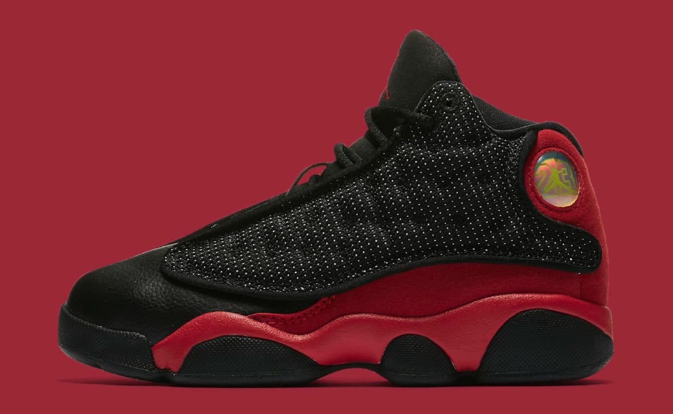 Air Jordan 13 XIII Bred Preschool Release Date 414575-004