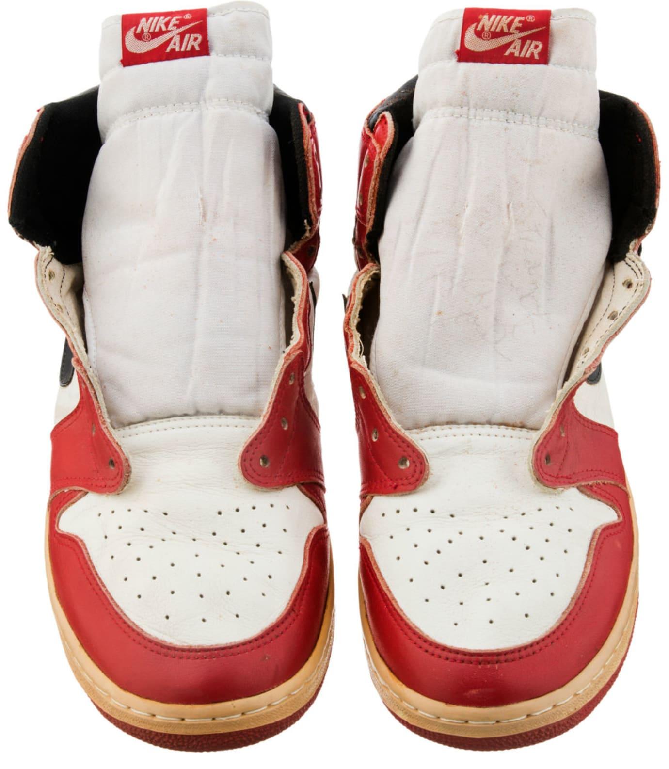 Air Jordan 1 Straps Injury Sample Auction Front