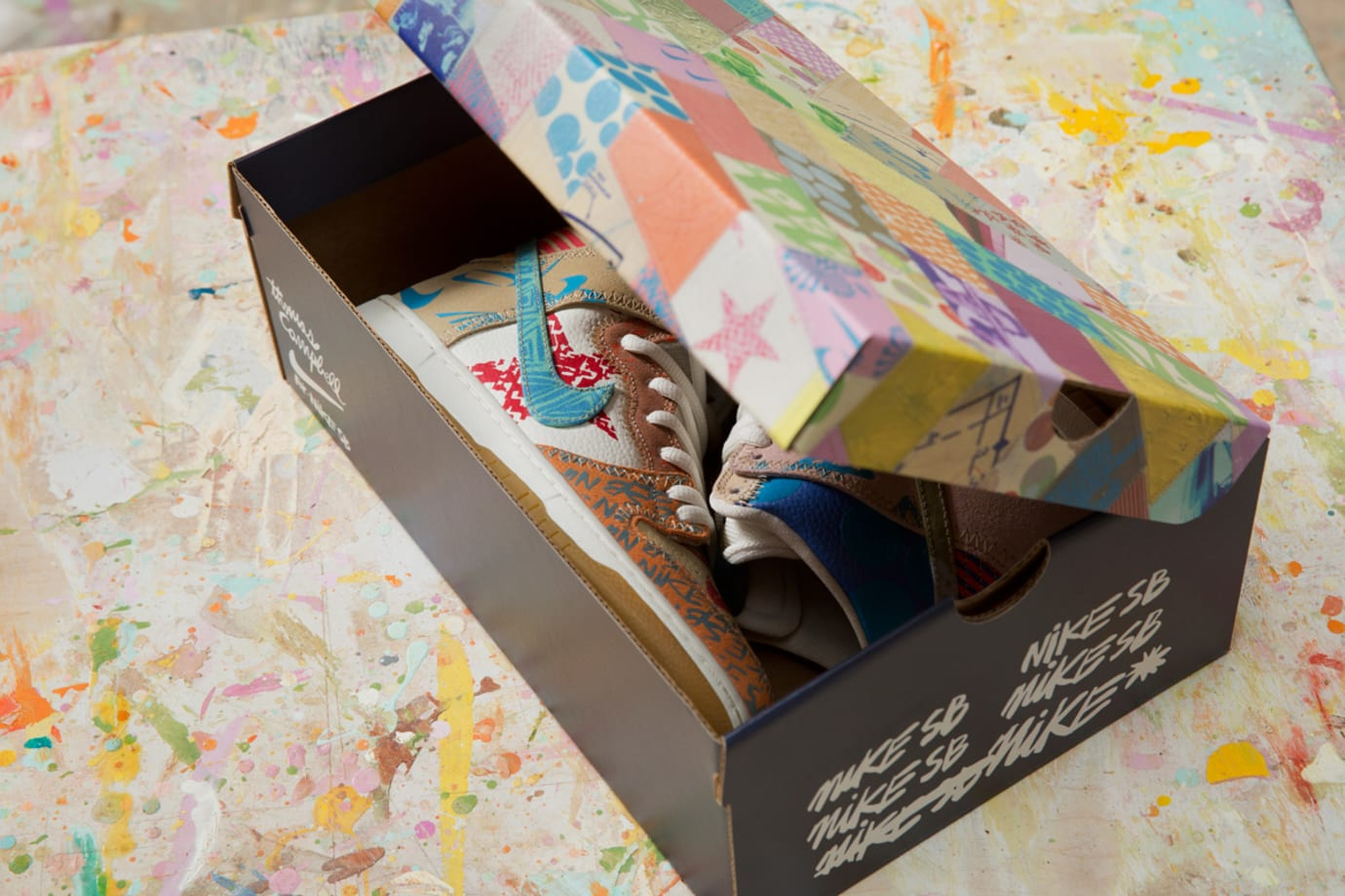 Thomas Campbell x Nike SB Dunk High Custom Packaging Limited (3)