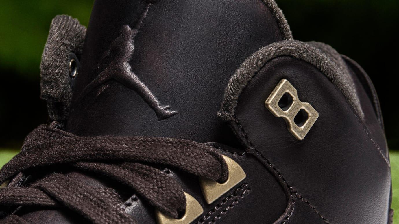 Air Jordan 3 Golf Premium 'Bronze' (Tongue)