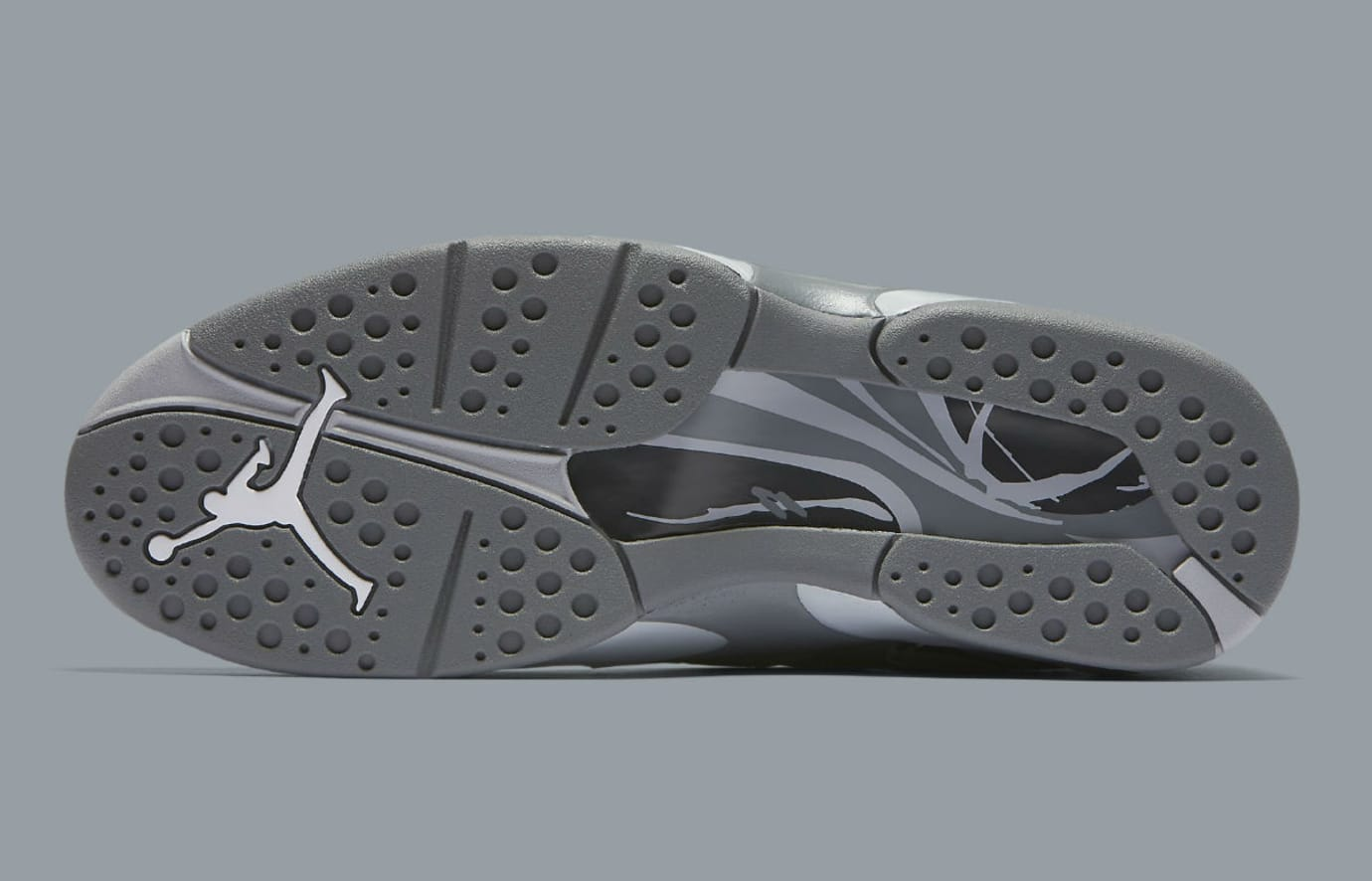 c81204997d36 Air Jordan 8 VIII Cool Grey Release Date Sole 305381-014