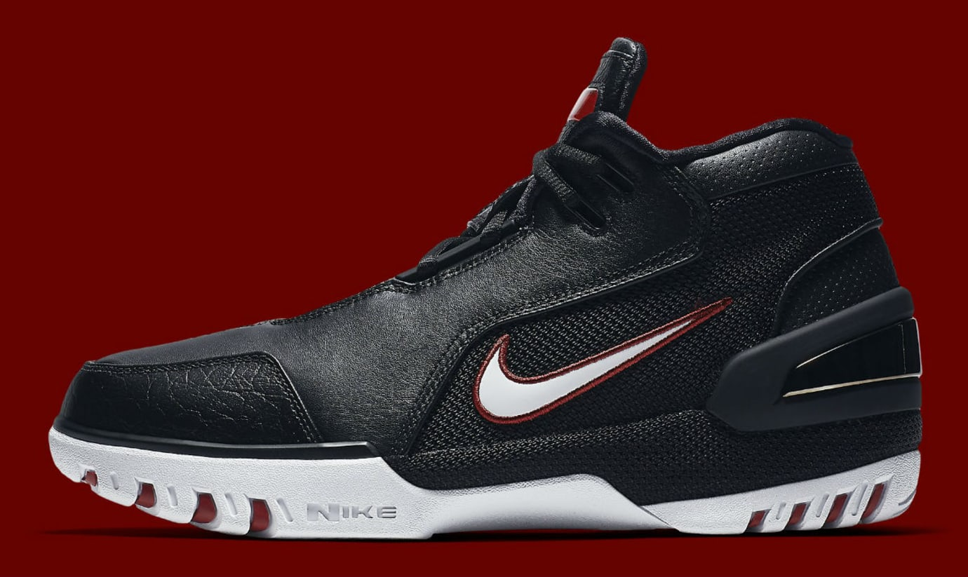 Nike Air Zoom Generation Black Varsity Crimson White 2017 Release Date AJ4204-001 Profile