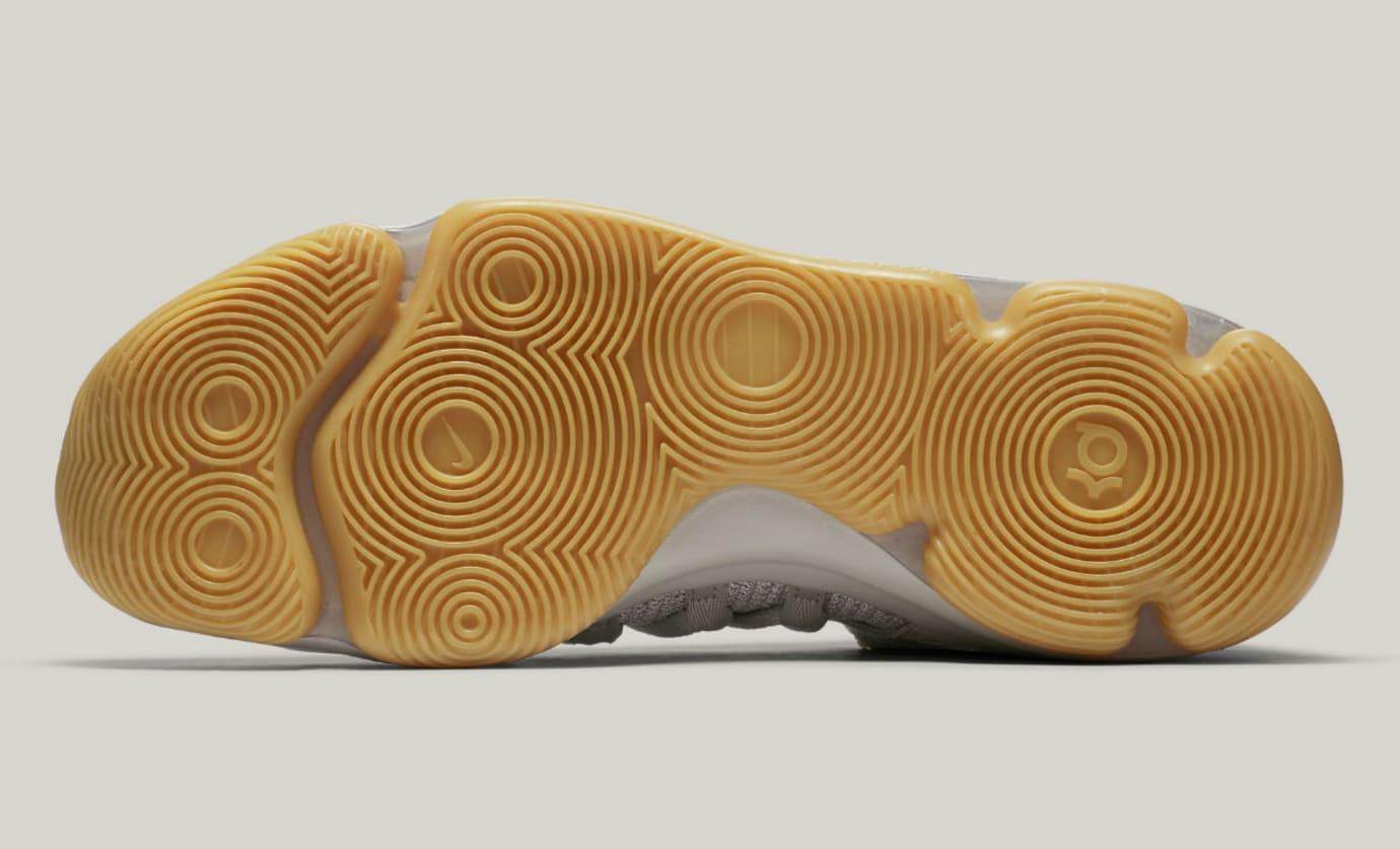 big sale 7dd8c 624f1 Nike KD 10 Pale Grey Light Bone Gum Release Date Sole 897817-001