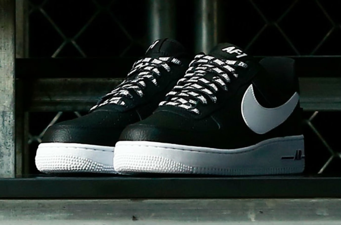 Nike Air Force 1 Low Statement Game NBA Logos Black
