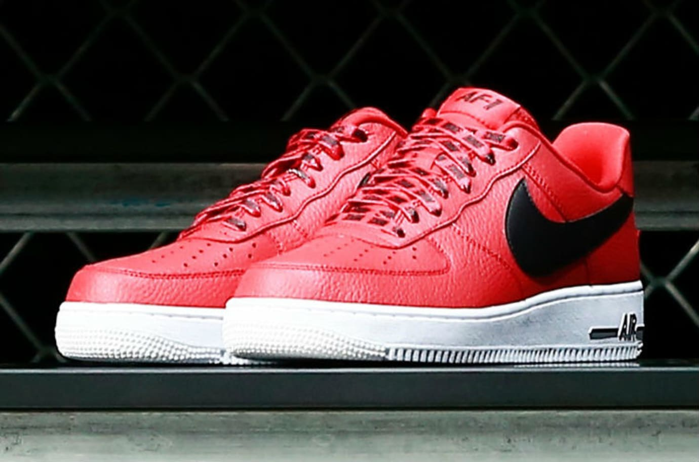 Nike Air Force 1 Low Statement Game NBA Logos Infrared