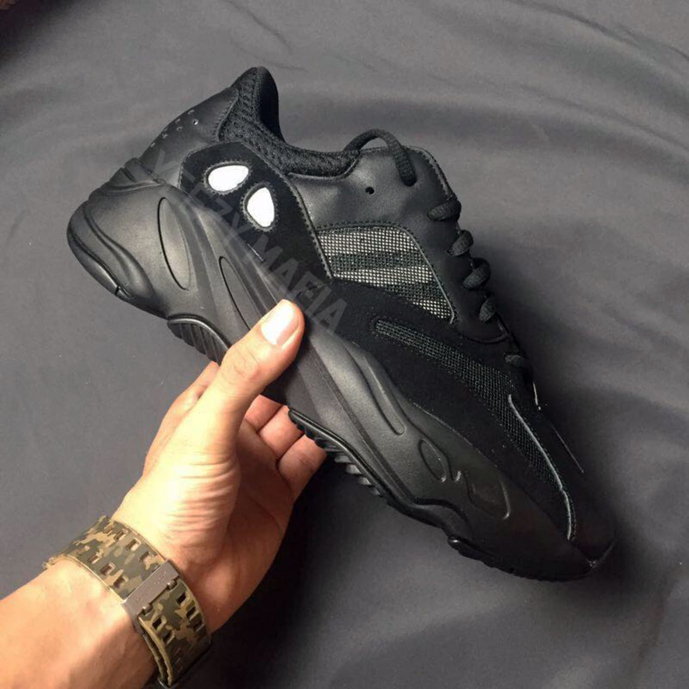 Adidas Yeezy Boost 700 Triple Black White Gum | Sole Collector