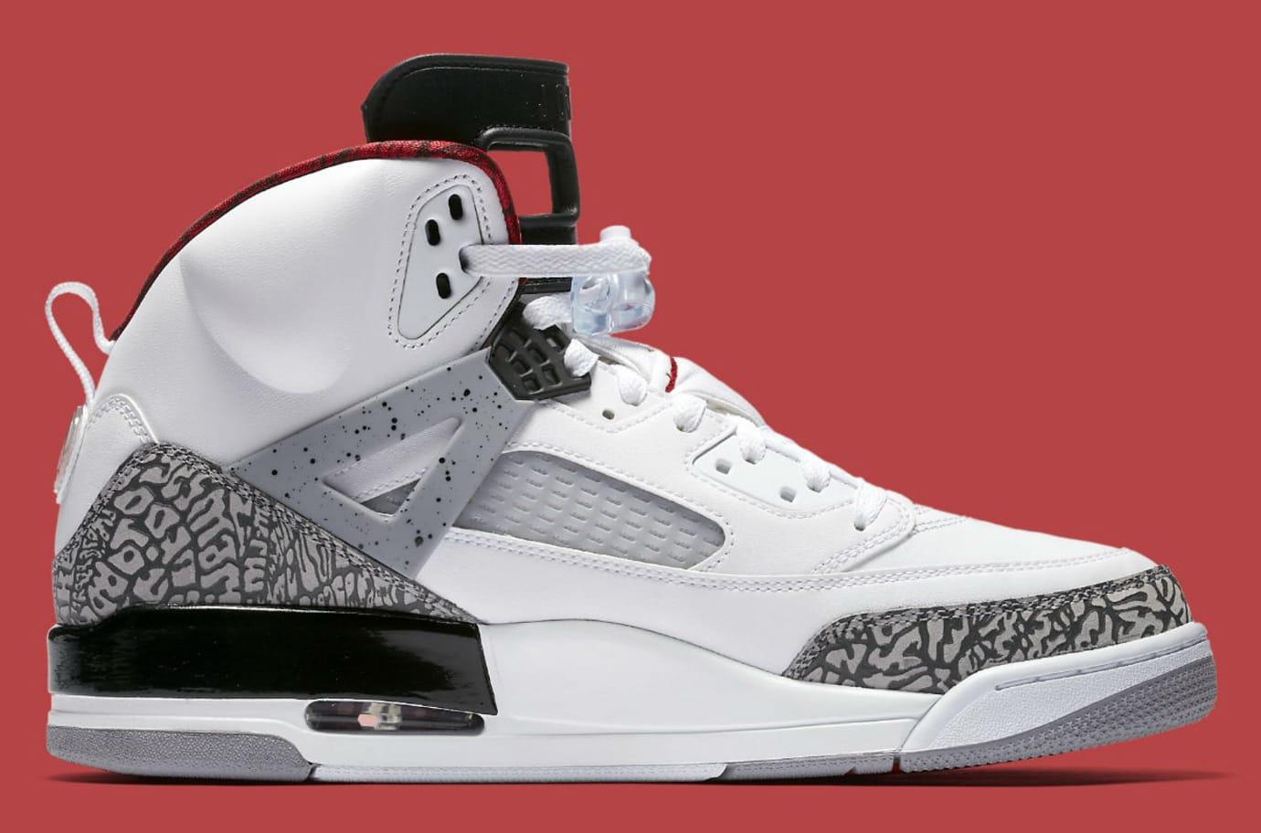 best sneakers 99b63 46d70 Jordan Spizike White Cement 2017 Release Date Medial 315371-122