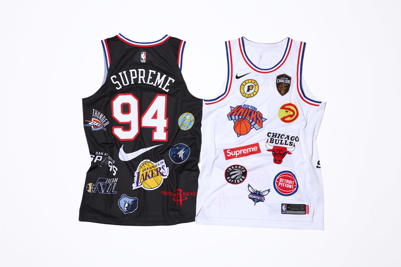 Supreme x Nike x NBA Jerseys (Back)