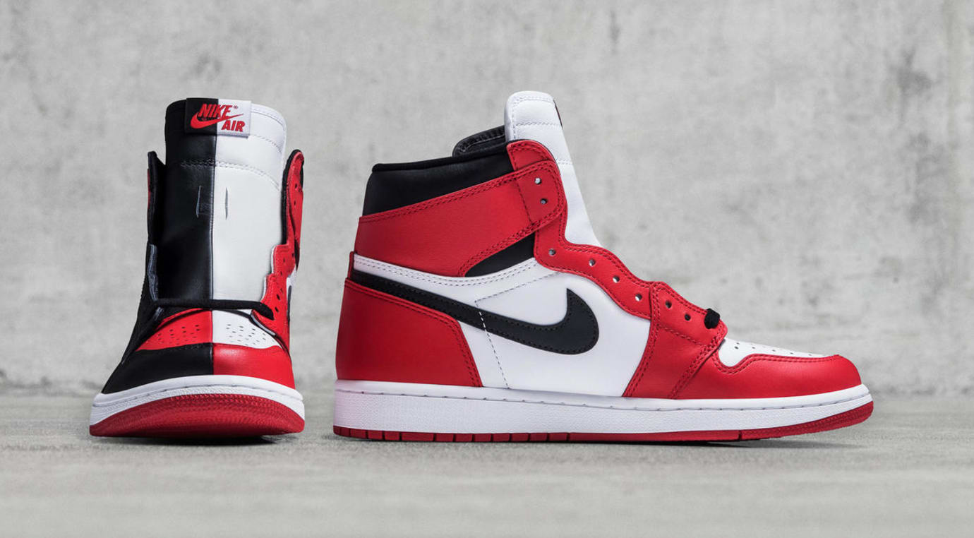 Air Jordan 1 Homage to Home Split Sample Front