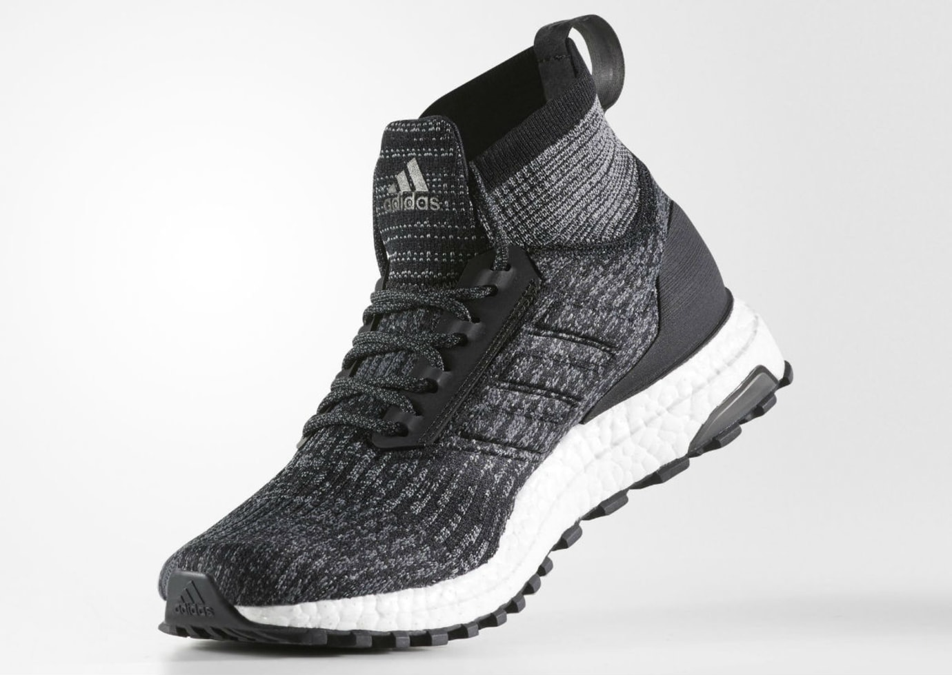 purchase cheap 85f82 3c546 Adidas Ultra Boost ATR Mid Black White Oreo Release Date Medial S82036
