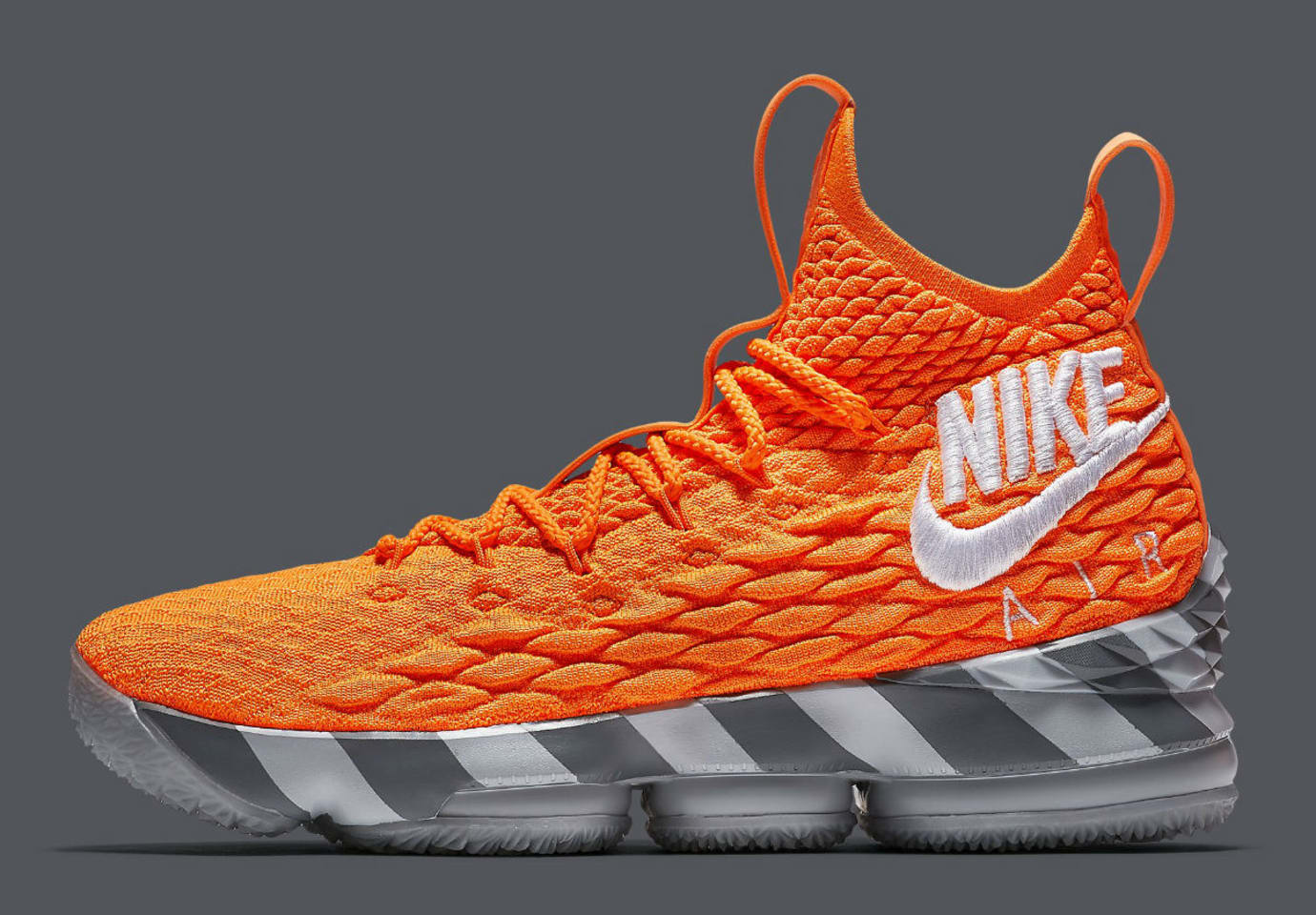 Nike LeBron 15 Orange Box Release Date AR5125-800 Profile c963efb4f